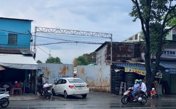 Bãi xe 397 trước khi Sài Gòn giãn cách (Ảnh: cand)