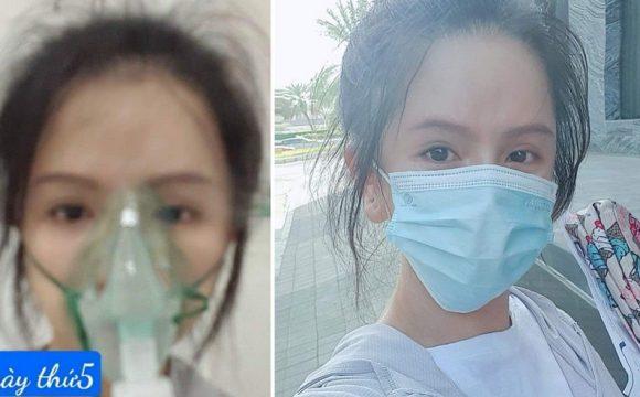 H.N trong ngày thứ 5 bị thiếu oxy và khi đã dần bình phục. (Ảnh qua Thanh Niên)