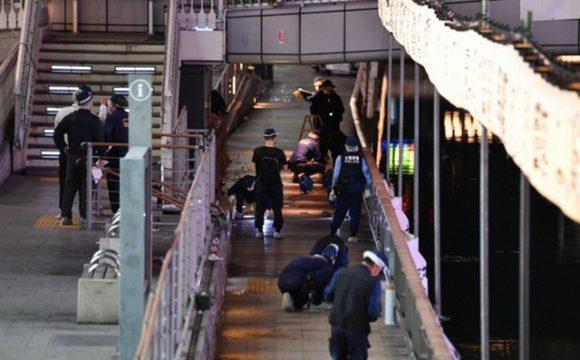 Cảnh sát có mặt tại hiện trường vụ việc.