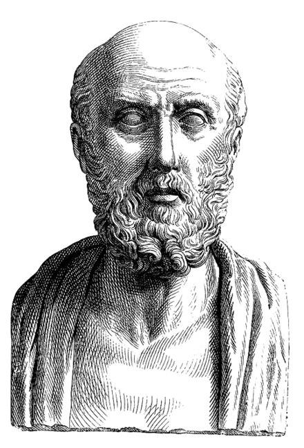 """Hình ảnh quy ước trong bức tượng bán thân """"chân dung"""" của người La Mã (bản khắc thế kỷ 19) (Nguồn: Wikipedia)"""